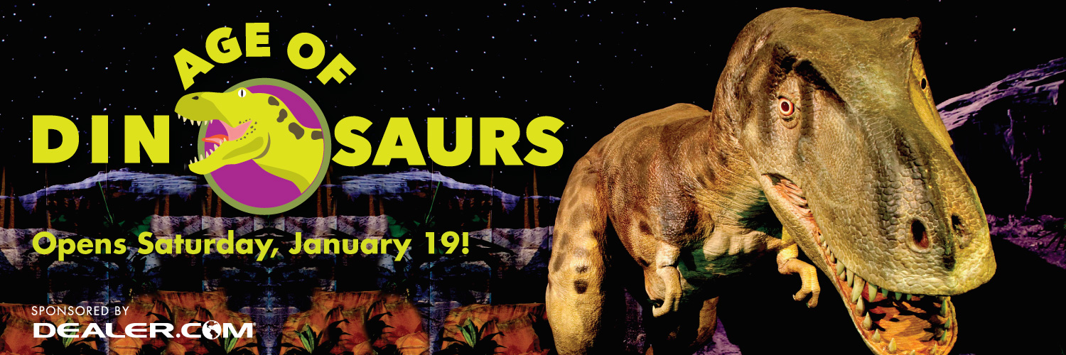 Age of Dinosaurs opens January 19