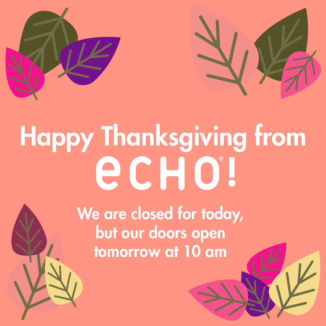 Happy Thanksgiving from ECHO