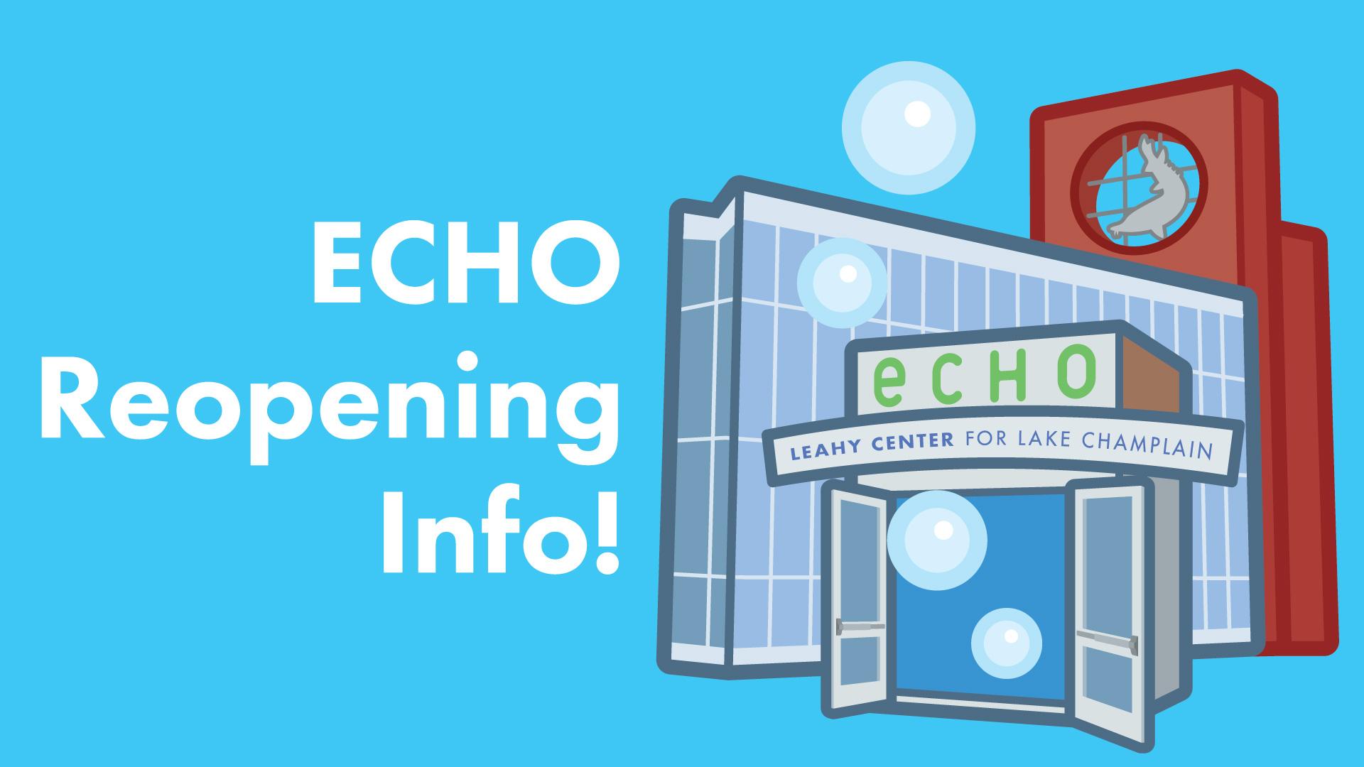 ECHO's building with doors open
