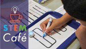 Ozobot coding at the STEM Cafe